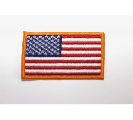Embroidered U.S Flag Patch