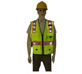 LED High Visibility Safety Vest