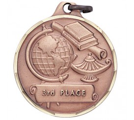 1 1/4 inch 3rd Place Medal