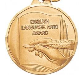 1 1/4 inch English Language Arts Award