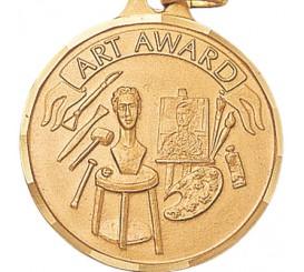 1 1/4 inch Art Award