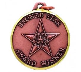 1 1/4 inch Bronze Star Award  E9995S